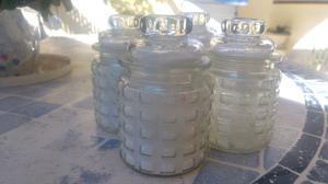 Liquido 9 azucareras de vidrio
