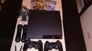 PS3 + Kit move original + juegos
