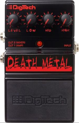 Pedal Digitech Death Metal Art. Nuevo