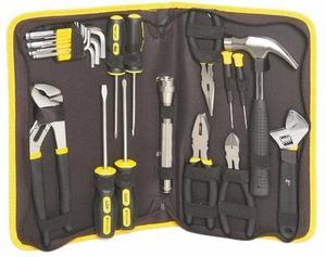 Set de herramientas 22 piezas nuevas en cartuchera.