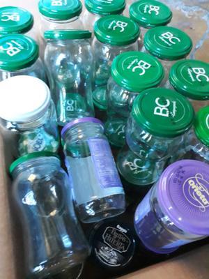 Vendo frascos varios usos