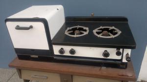 horno y anafe de mesa antiguo a kerosene
