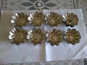 24 Moldes de metal para hacer tarteletas