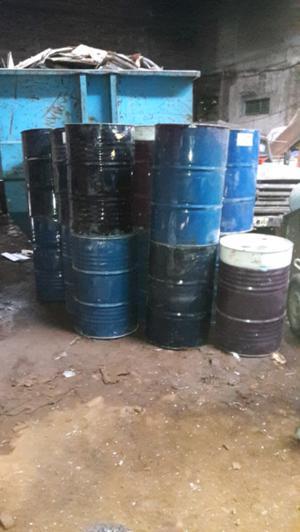 Aceites usados en muy buen estado Tambores