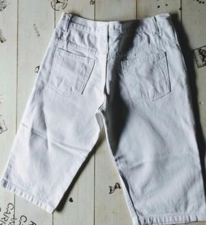 Bermuda de Jeans blanco talle 12