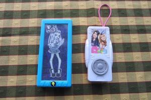 Dos juguetes de Mac Donalds para nena: Monster High y otro,
