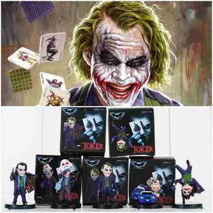 Joker Set X 5 Figuras! Gashapones Guason Ledger Batman