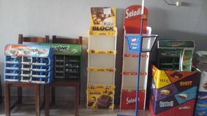 Kiosco mueble estanteria negocio