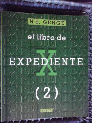 PRECIO DE OFERTA: EL LIBRO DE EXPEDIENTE X (2) -- N.E.GENGE