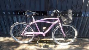 bicicletas rodado 26 de hombre color rosa