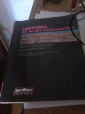 vendo libro de historia del mundo contemporáneo