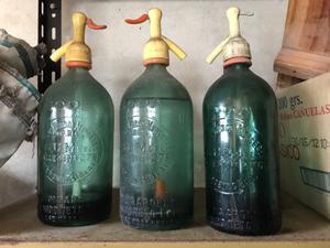 3 Sifones antiguos