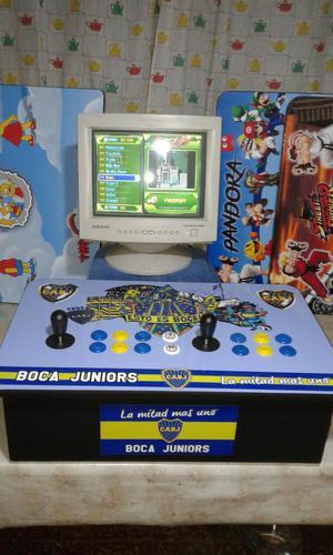 Arcades multijuego para monitores y tv