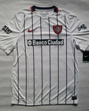 Camiseta suplente San Lorenzo  talle XL