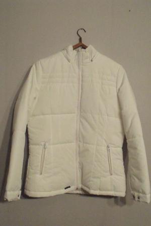 Campera de abrigo blanca - Nueva - Talle M