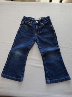 Jean Pantalon Rapsodia Niña Talle 2 Azul