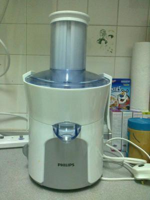 Juguera Philips Tubo Grande Frutas Y Verd Enteras