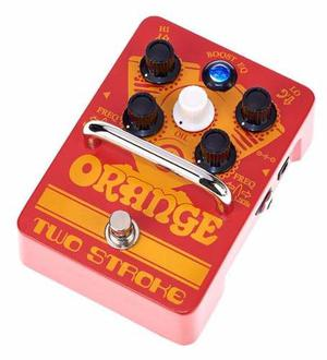 Orange Two Stroke Clean Boost Booster Pedal - Oddity