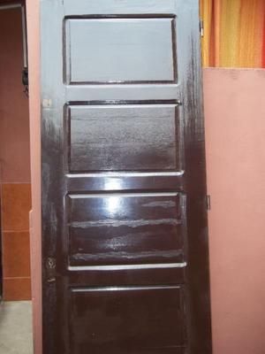 Puerta de madera pino sin marco