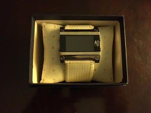 Reloj con malla de cuero Stone