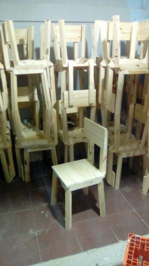 Vendo sillas de madera!