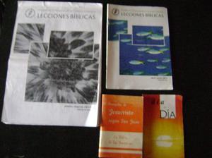lecciones biblicas-cuaderno trimestral(2 libritos)