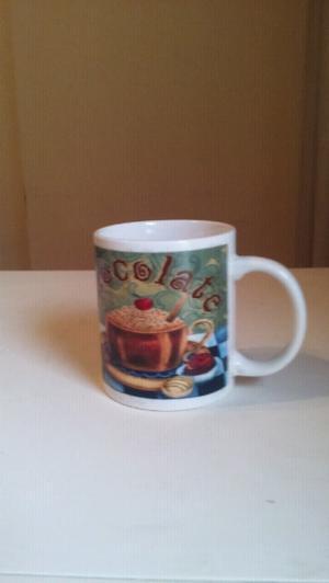 taza de ceramica estampada
