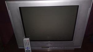 tv 21 pulgadas pantalla plana control remoto