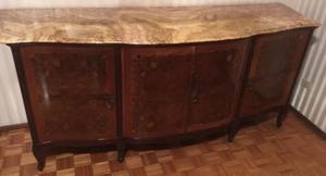 Loja Artesanato Joinville ~ Aparador antiguo estilo ingles tallado marmol Posot Class
