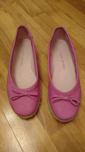 Balerinas/chatitas color fucsia talle 38