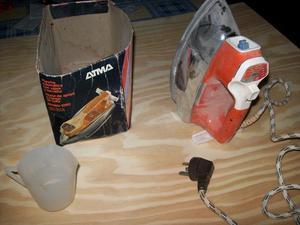 Lote de electrodomésticos plancha, cafetera y extractor de