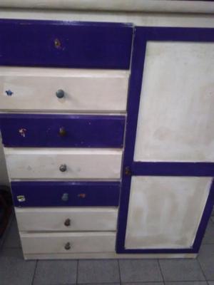 Mueble con perchero y cubos posot class - Muebles para chicos ...