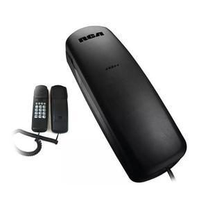 Rca  Telefono Fijo Mesa Pared C/cable Slim Tecla Flash