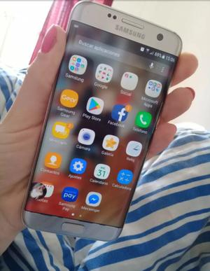 Samsung S7 EDGE 32 GB LIBRE de fabrica volor gris plata