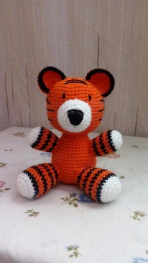 Tigre Tejido A Crochet