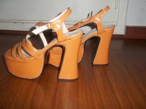 zapatos sandalias usadas casi nuevas nro