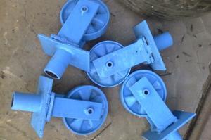 4 ruedas para andamios tubulares