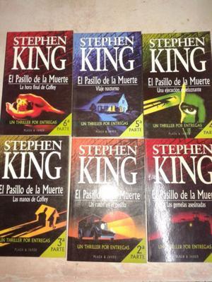 El Pasillo De La Muerte de stephen King,(6 LIBROS) perfecto