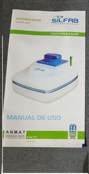 Vaporizador Silfab Como nuevo en caja con manuales