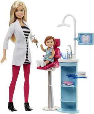 Barbie Muñeca Dentista Articulada Mattel