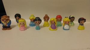 Disney Princesas Ooshies Personajes Sueltos