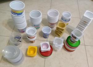 ENVASES VACIOS PLASTICOS X 75 UNIDADES