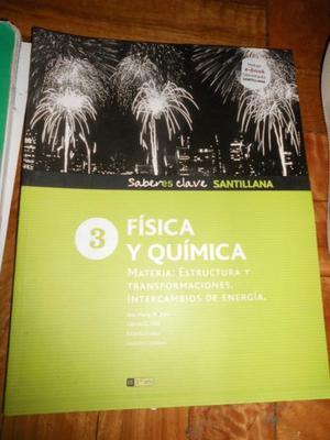 FISICA Y QUIMICA 3 - SABERES CLAVE SANTILLANA