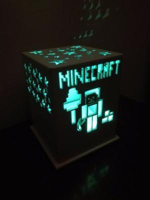 Luz de Noche / Velador de MINECRAFT