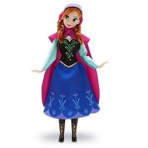 Muñeca Anna De Frozen. Mide 30 Cm. Original Disney Store!