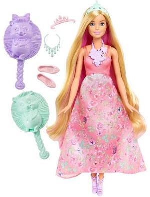 Muñeca Barbie Dreamtopia Princesa Peinados Magicos