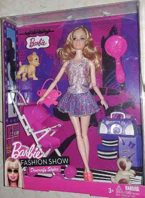 Muñeca Barbie+coche De Bebe+ Mascotas Y Accesorios !! Nuevo