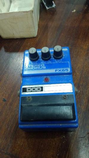 Pedal Dod Stereo Chorus Fx 65. Made In Usa