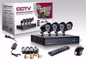 """Sistema de Camaras de Seguridad """"CCTV"""" X4"""