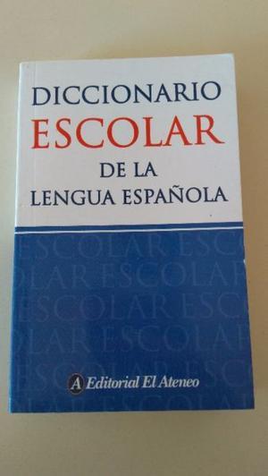Vendo Diccionario Escolar de la Lengua Española